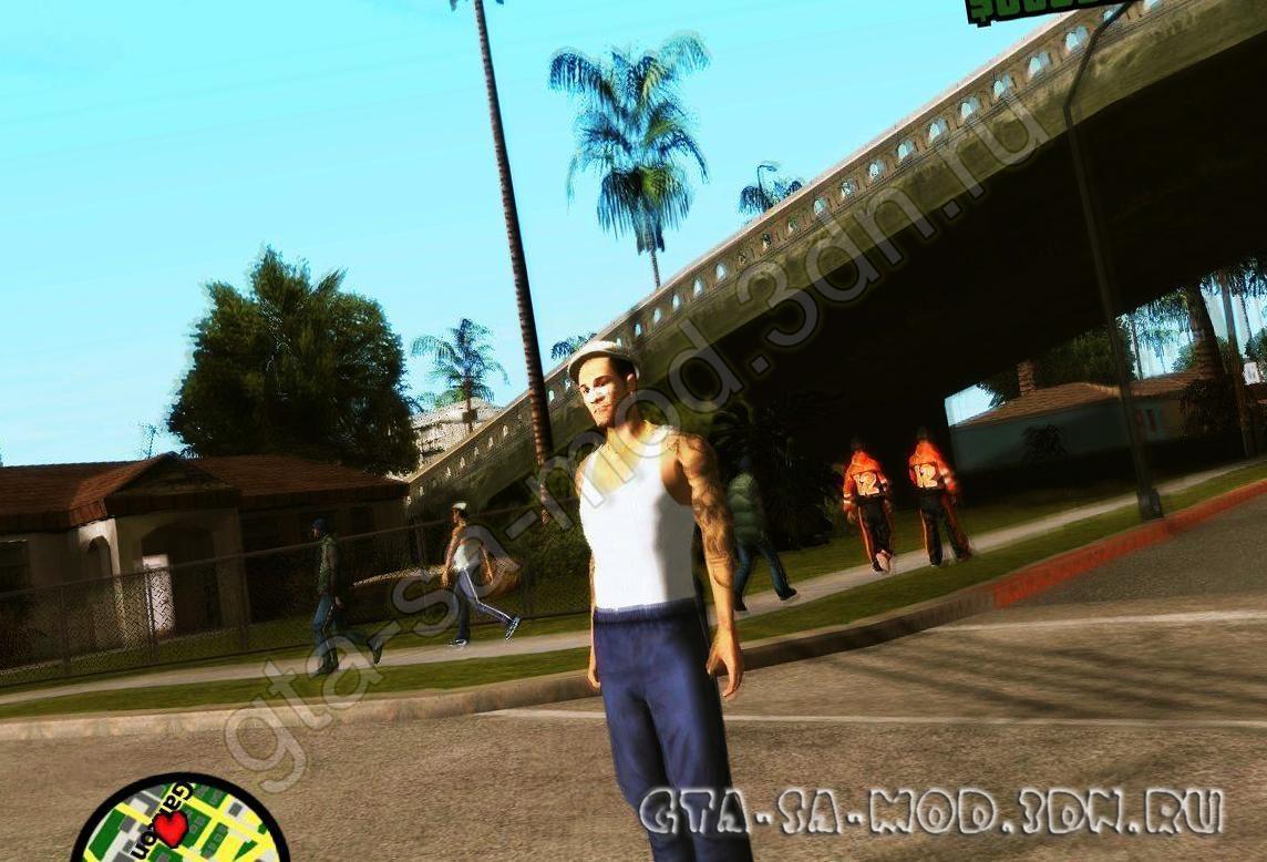 Скины Гопников для GTA San Andreas - картинка 1